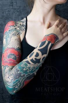 Sleeve by Inga Hannar