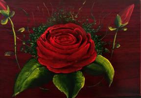 rose tea box