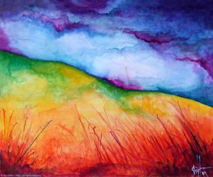 Field Landscape by profane