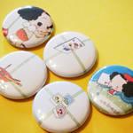 Ddung Mini Buttons-Art by hellohappycrafts