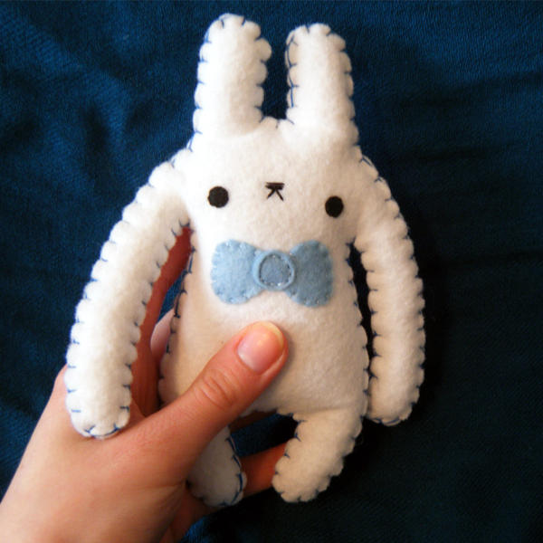 Monster Bun Larry 2 by hellohappycrafts