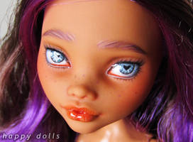 Monster high clawdeen repaint 1 by hellohappycrafts