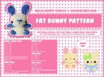 free amigurumi pattern - fat bun