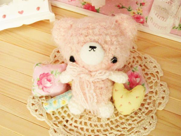Plum - crochet amigurumi bunny by hellohappycrafts