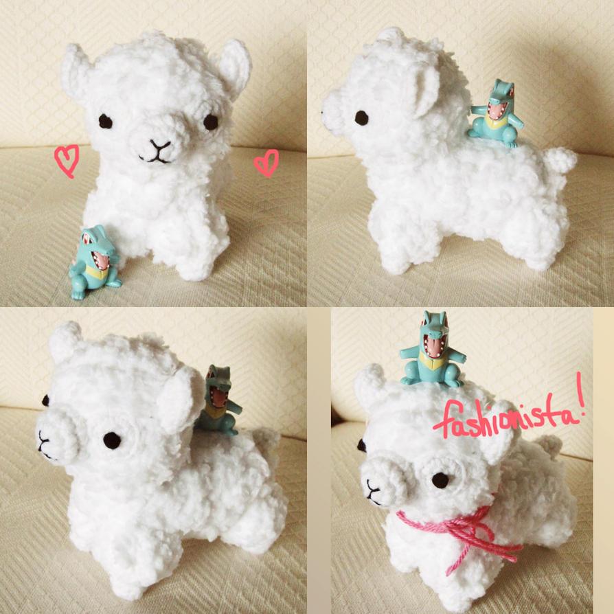 Amigurumi Alpacasso : Kawaii amigurumi alpaca for trade by hellohappycrafts on ...