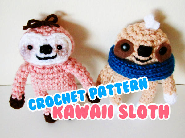 Free Amigurumi Sloth Pattern : Amigurumi sloth free pattern slugom for