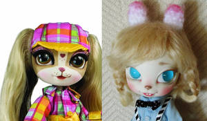 custom pinkie cooper doll before and after
