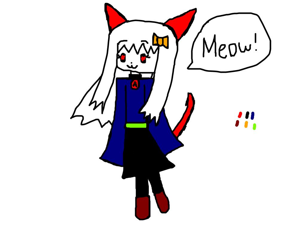 Anna the Catgirl by Meikofan