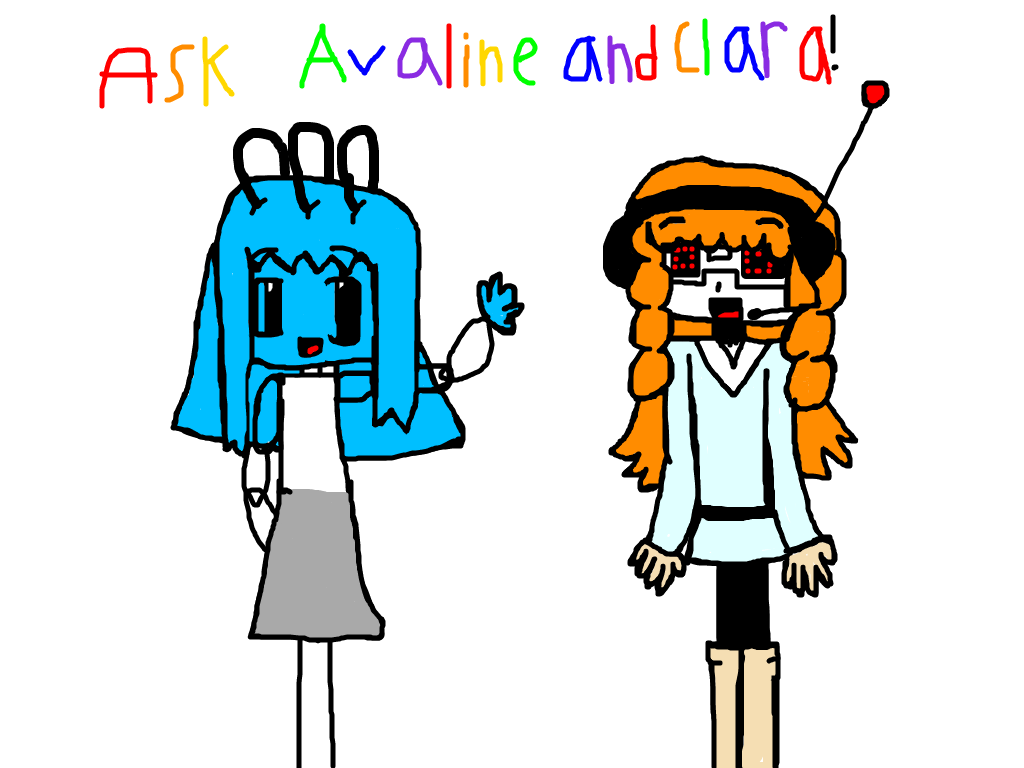 Ask Avaline and Clara! by Meikofan