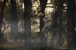Razorcandi in haunted cemetery by xX-Schattenkind-Xx