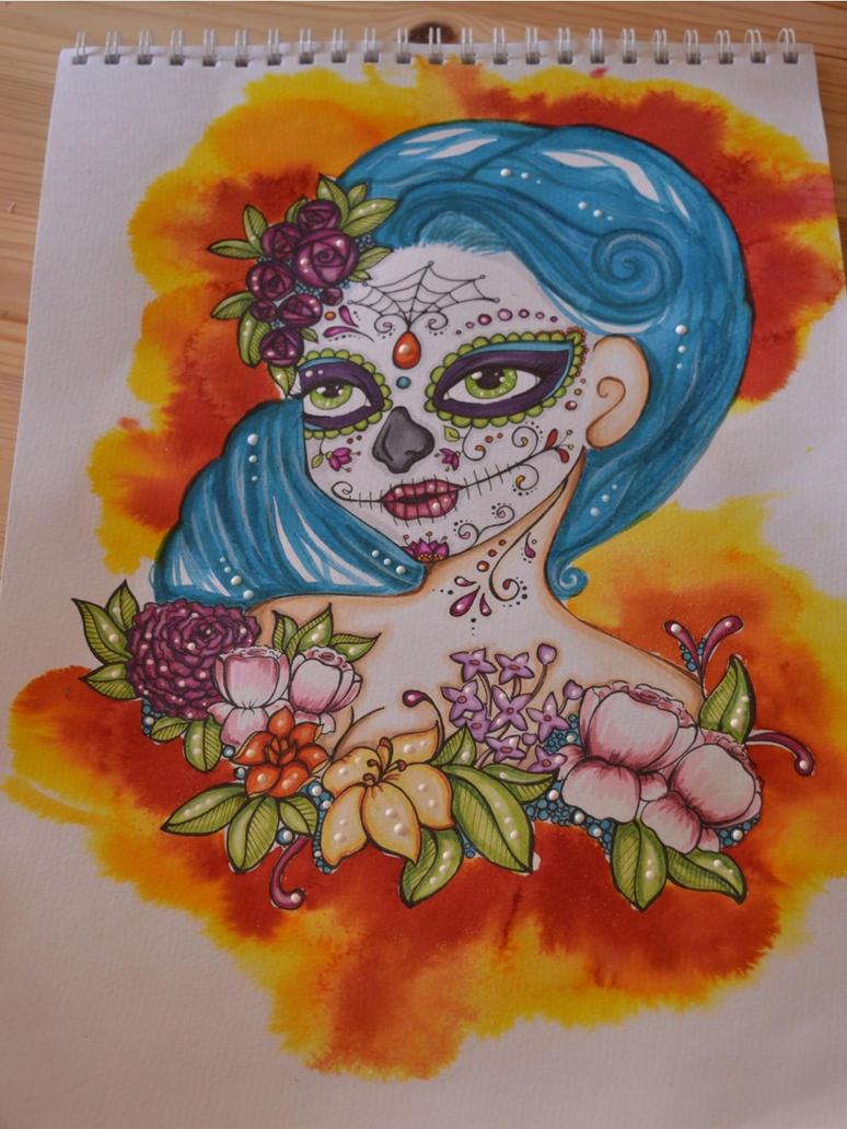 Dia de los Muertos by Dandeira
