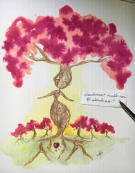 Spring tree spirit