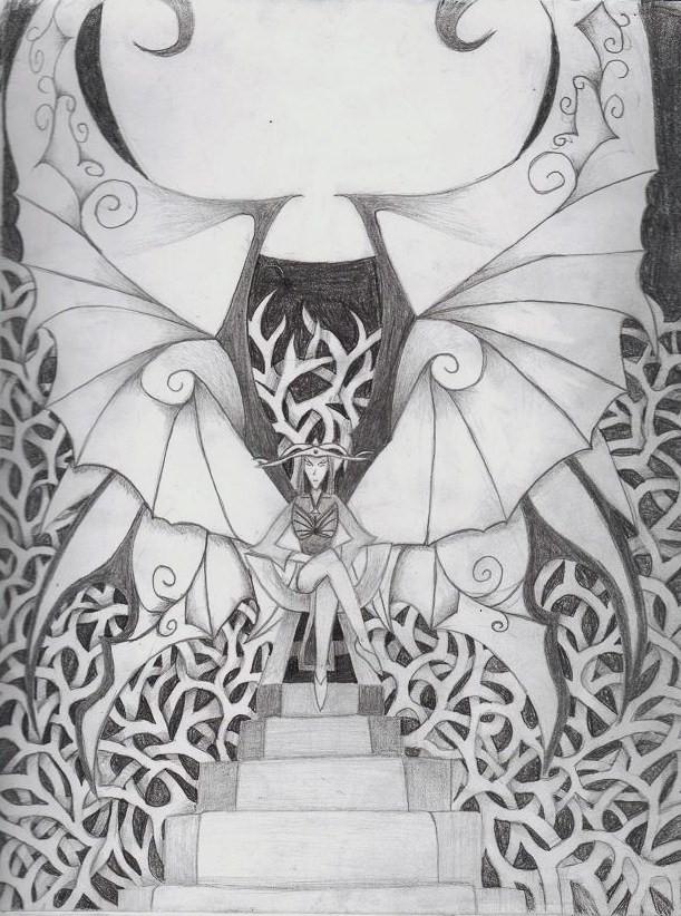 Dark Fairies Drawings Dark Fairy Tales Drawings