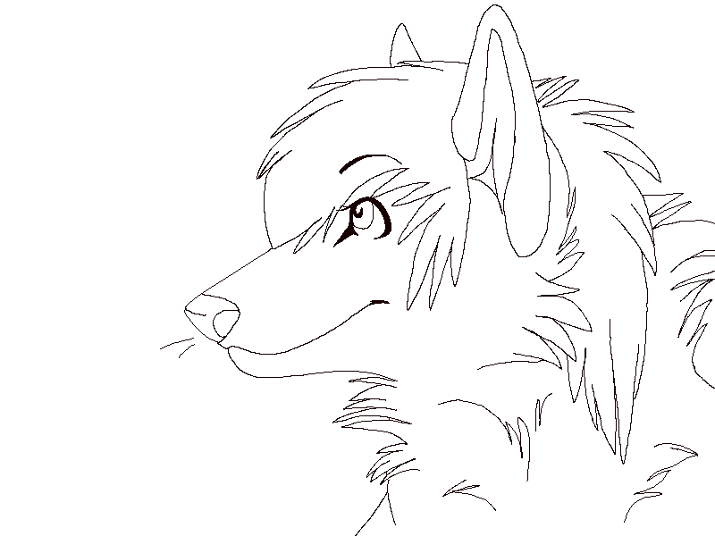 Line Art Fox : Fox lineart by kadekannibal on deviantart