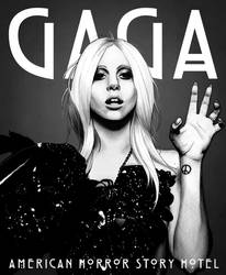 Gaga American Horror Story Hotel by Jaguero92