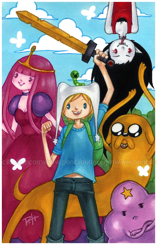 adventure time by pencil-butter