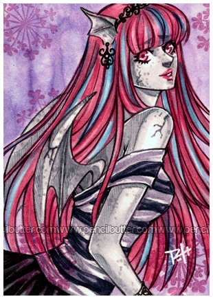 aceo - rochelle by demon-rae