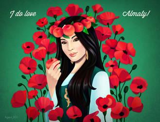 I do love Almaty by AgentK19