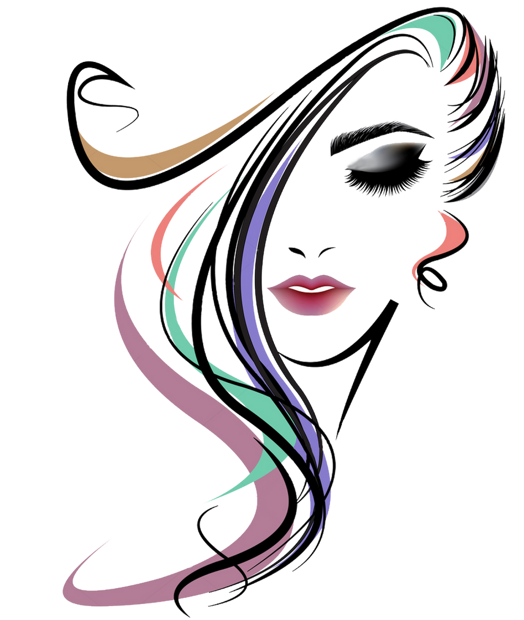 Vector Hairstyles: Vector Women Long Hair Style By CheconX On DeviantArt