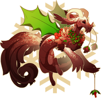 { ADVENT DAY 5 } Holly Sprite - Auction! (CLOSED) by LilKyubee