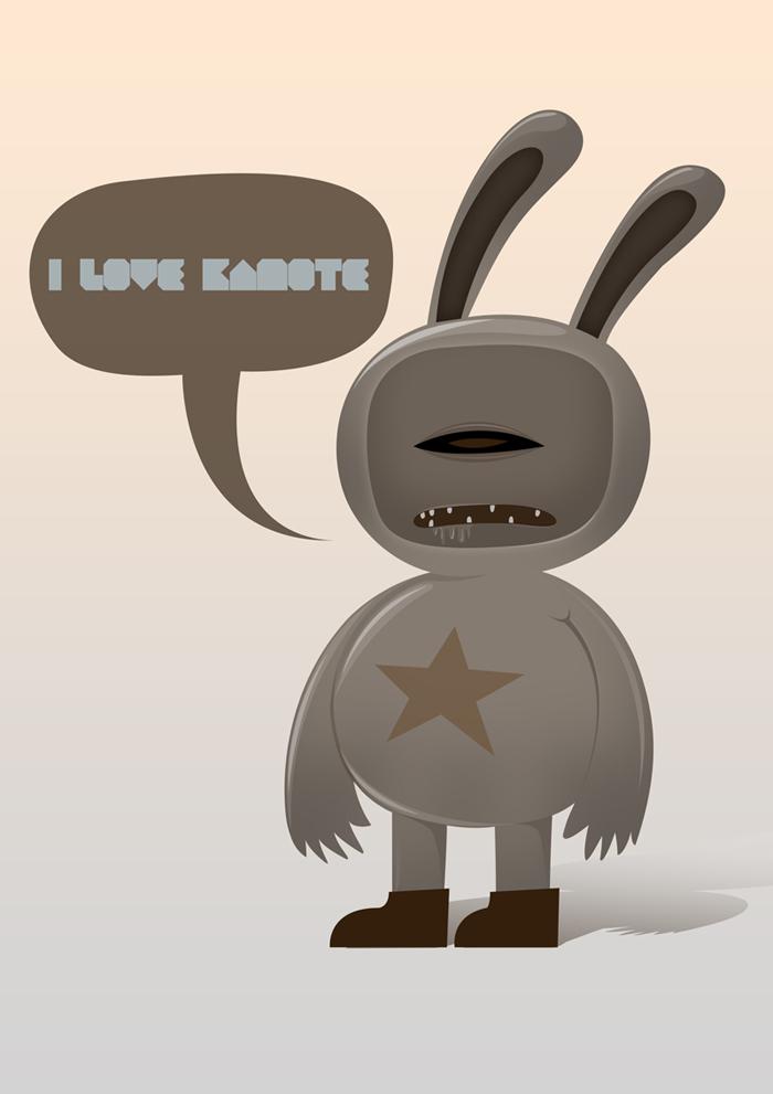 I Love Kamote by pinkblot6