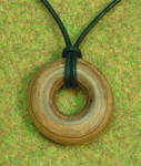 Simple wooden pendant