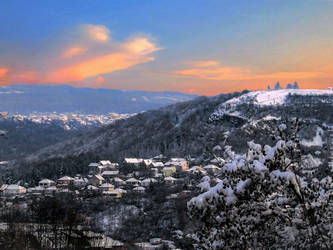 Winter panorama by Olga17