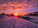 Winter scene by Olga17