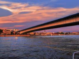 Belgrade bridge by Olga17