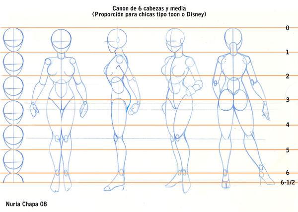 CANON FEMENINO 6 CABEZAS Y MED by CristalLegacy