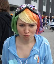 Rainbow Dash Cosplay Stock by ankin