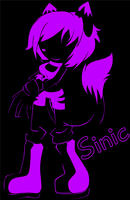 Sinic Silhouette by CrisisDragonfly
