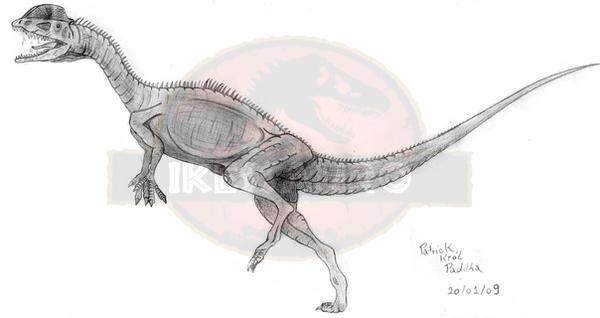 New Dilophosaurus wetherlli by ikessauro