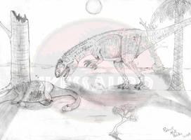 Carcharodontosaurus by ikessauro