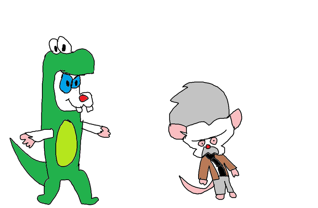 pinky and the brain halloween costumes by simpsonsfanatic33