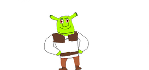 Characters of Green 1 Shrek