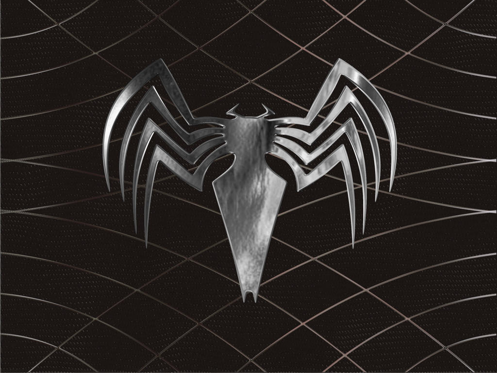 Spiderman 3 Venom Logo by minitrucksmafia