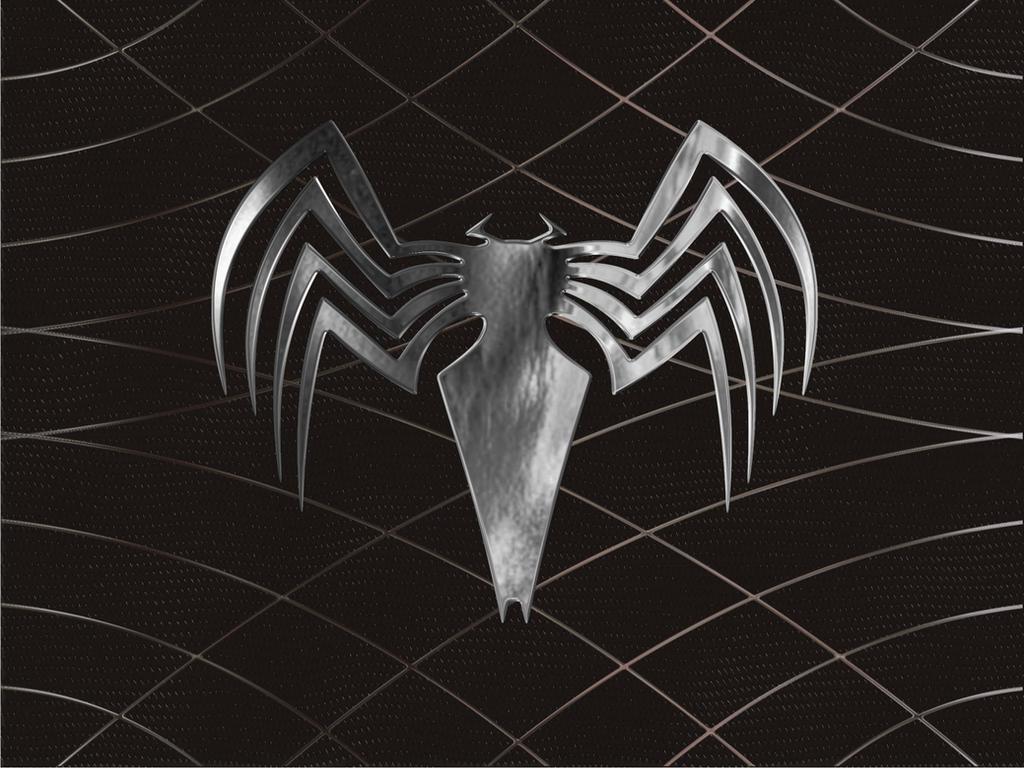 Spiderman 3 Venom Logo by minitrucksmafia