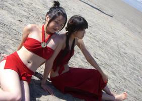 AVATAR: Azula and Mai Cosplay by chuwei