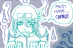 Hayate needs his COUGH-ee by chuwei