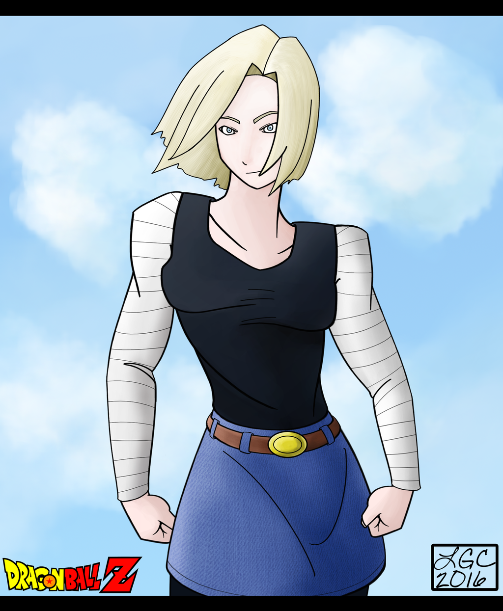 Android 18 And Tail Deviantart: Android 18 By DoubleRaineBow On DeviantArt