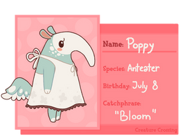 [Creature Crossing] - Poppy by Misuzee