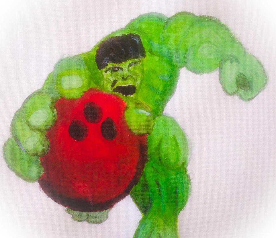 The Hulk STRIKE! by DoctorWhovianLady