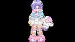 [MMD] Pururut + Neptune Plushie DL