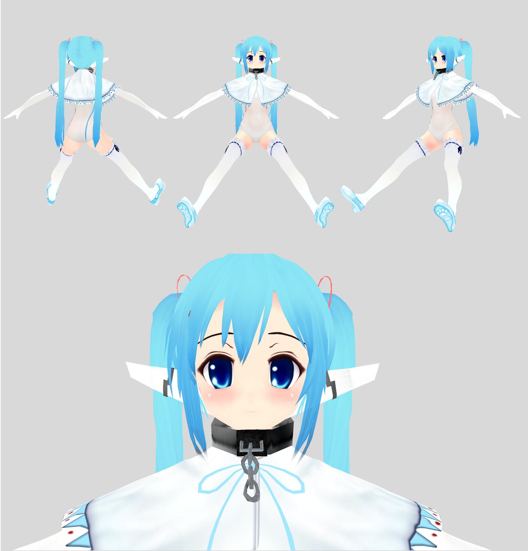[MMD] Teatime  - Nymph - Sora No Otoshimono by xxSnowCherryxx
