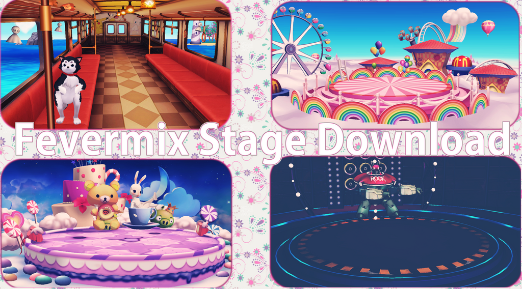 MMD Fevermix Stages Download by xxSnowCherryxx
