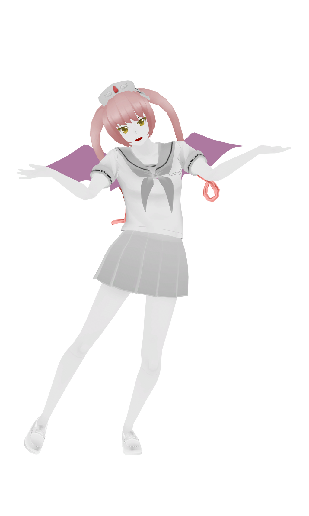 MMD  Yandere Simulator = Ebola Chan by xxSnowCherryxx on - Hairstyle Simulator