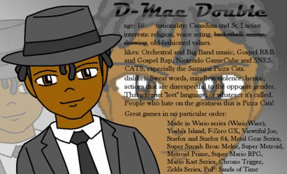 Who's that guy named D-Mac? by D-Mac-Double