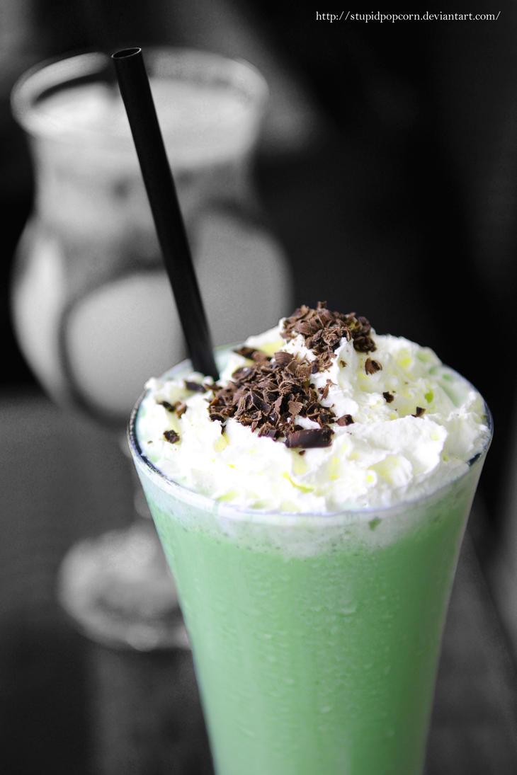 Frozen Green Tea 1 by stupidpopcorn