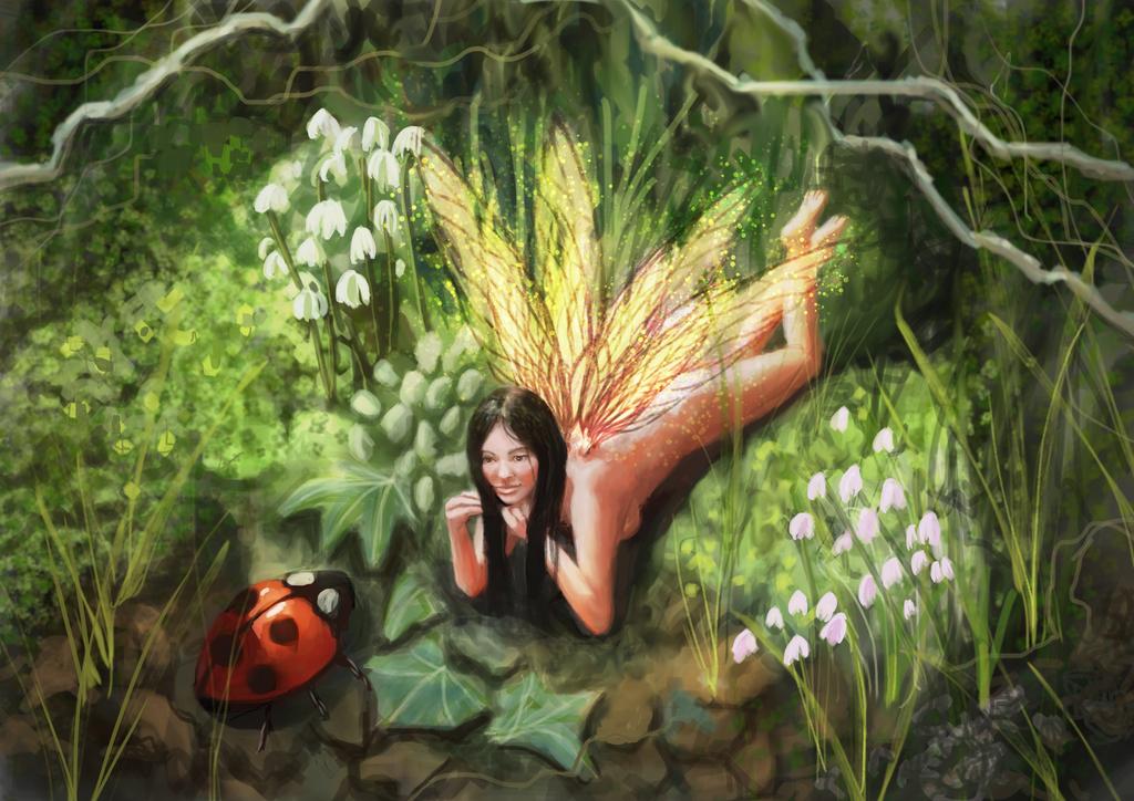 Garden Friends by runts-gal